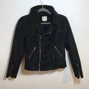 URBAN OUTFITTERS SILENCE+NOISE MOTO JACKET SZ: S